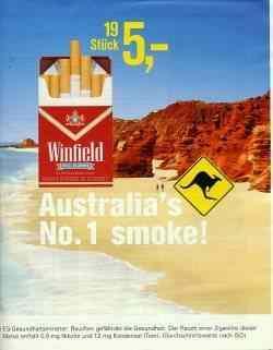 Winfield ad (German)