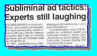 article title: Subliminal ad tactics etc