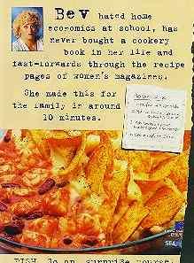Bev's seafood ad