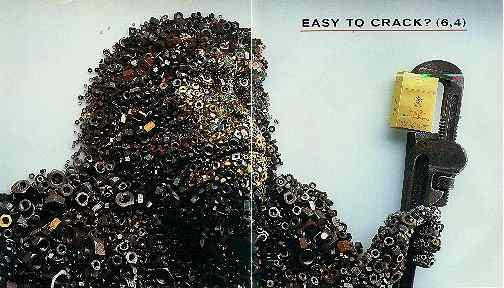 Click for a larger, floating, image. Benson and Hedges Nutty Gorilla ad.