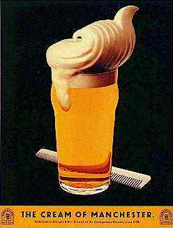 Boddington's rhaircream ad