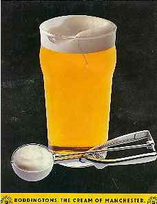Boddington's cream beater ad