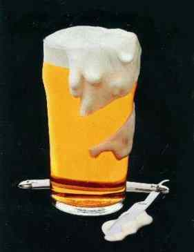 Boddington's razor ad