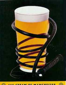 Boddington's whipped cream ad