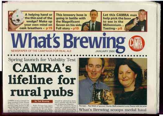 What's Brewing: The CAMRA magazine.