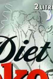 Section of Diet Coke label