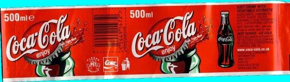Coca Cola label