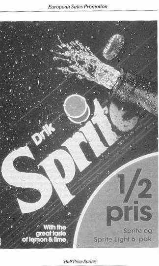 Danish Sprite ad.