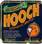 hooch label for Orange Hooch