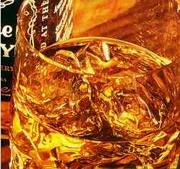 Another extract from the Jack Daniel's ad  with rollover effect.
