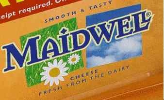 Maidwell cheese ad with 'dead body' in the clouds..