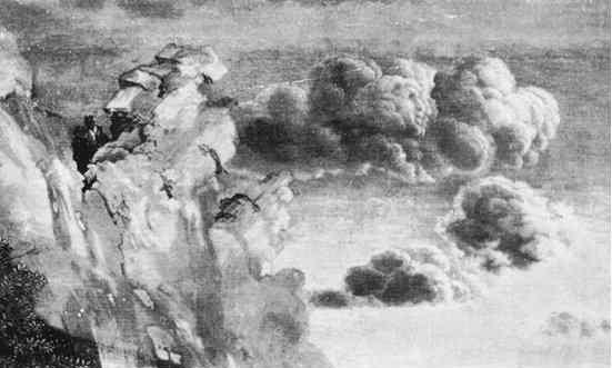 Mantegna's 'Virtue Chasing Vice'.