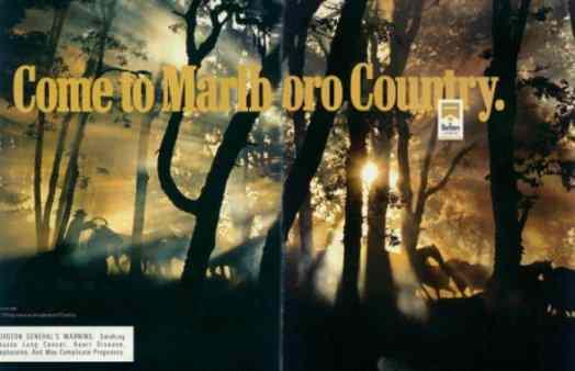 Marlboro advert.