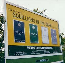 Mayfair billboard poster