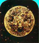 depiction of the  moon by an artist suffering from a mental illness