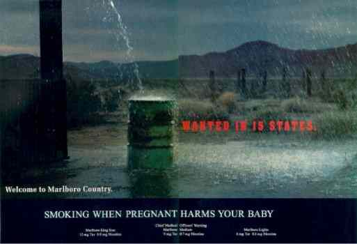 Click for a larger, floating, image. Marlboro's suggestive oral ad.