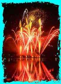 Click for a larger, floating, image of a fireworks display.