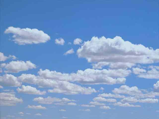 Click for a larger, floating, image of clouds.