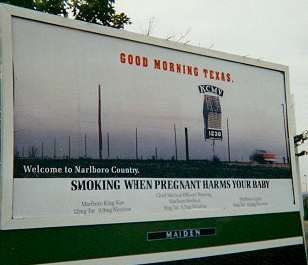 Marlboro poster: Good Morning Texas