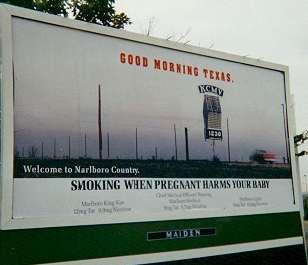 Marlboro poster: Good Morning Texas