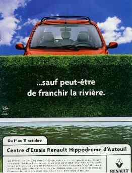 Click for a larger, floating, image. Renault ad with 'faces' in the clouds.