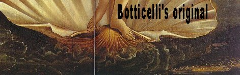 Enlargement of Botticelli's original.