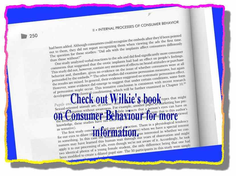 Click for a larger, floating, image. Wilkies' commentary on subliminal advertising.