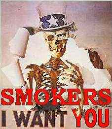 Smokers I want you ad
